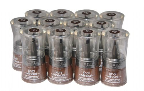12 x Loreal Colour Minerals Khol Powder Liner | RRP £84 | Wholesale